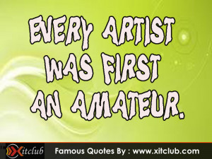 You Are Currently Browsing 15 Most Famous Art Quotes