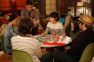 ... new neighbors (Guest stars: Charlie Saxton (R), Jinny Chung (second