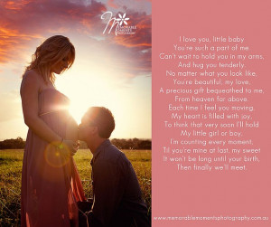 beautiful pregnancy quote - maternity poem for photography