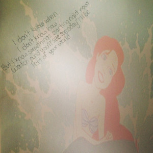 The little mermaid song quote