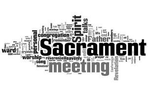 LDS Sacrament Meeting