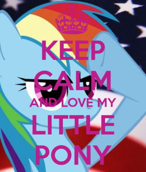 Rainbow Dash Keep Calm