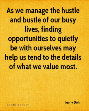 As we manage the hustle and bustle of our busy lives, finding ...