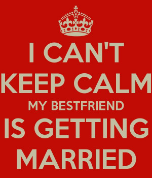 My best friend is getting married!!! @Maria Canavello Mrasek Torres