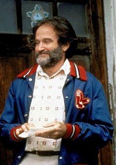 GOOD WILL HUNTING Robin Williams Sox Jacket More