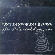 metallica i disappear sw more songs lyrics lyrics metallica lyrics art