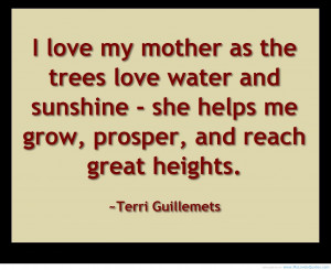 Special quote Mother helps her childern in every way mother quote