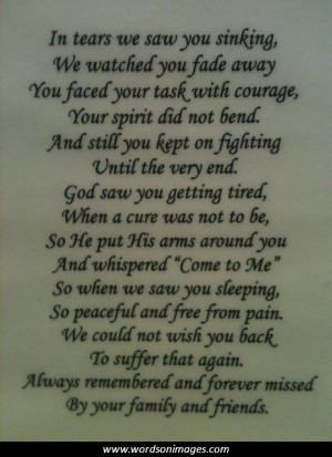 grandma passing away quotes