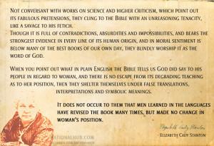 elizabeth cady stanton famous quotes