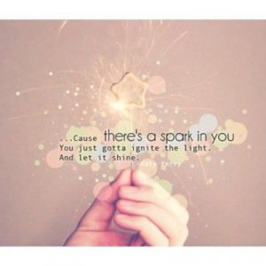 Let it shine :)