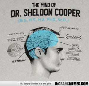 The Mind of Sheldon Cooper