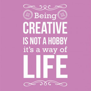 1Color Being Creative Life Hobby Sew Sewing by SunshineGraphix, $19.99