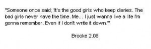 Brooke Quote - one-tree-hill-quotes Photo