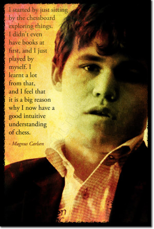 Details about MAGNUS CARLSEN ART PHOTO PRINT POSTER GIFT CHESS QUOTE