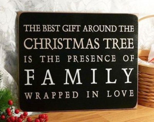 Christmas is a festival that bonds families and friends.