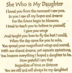 mother to daughter sayings and quotes | Quotes On Daughter | My Quotes ...