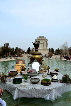 Haftsin tomb of Ferdowsi - Toos, Khorasan Razavi, Iran. Ferdowsi wrote ...