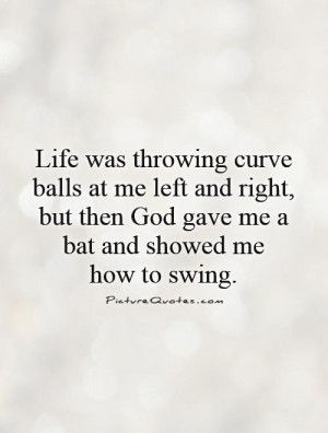 God Quotes Baseball Quotes