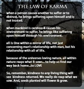 Karma – What You Give, You Get Back!