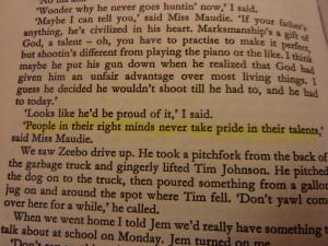 To kill a mockingbird quote by epicurefiona