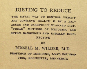 Visionary Quotes from 1929 Obesity Textbook - On