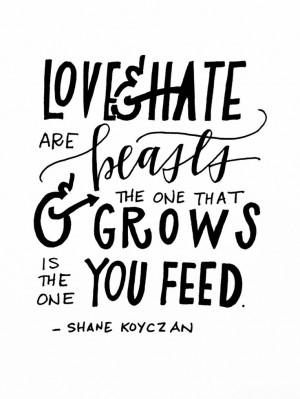 ... Shane Koyczan Quotes, Shanekoyczan Handlett, Shane Koyczan Tattoo