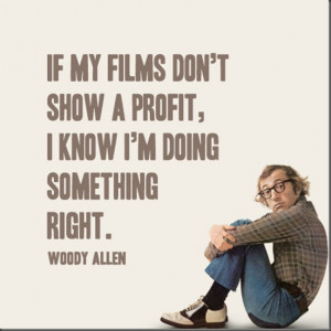 ... you may find the best collection of insightful Woody Allen Quotes