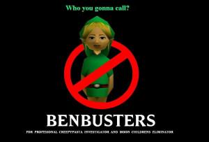 BEN DROWNED ben busters