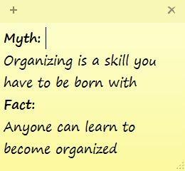 Professional Organizing in PEI