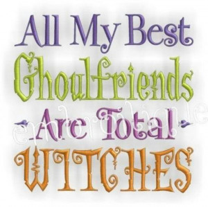 Best Ghoulfriends Witches