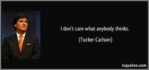 More Tucker Carlson Quotes