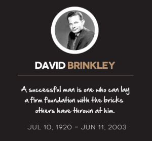 David Brinkley Quotes