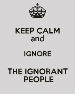 Funny Ignorant People...