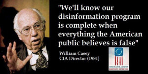 We'll know our disinformation program is complete when everything the ...