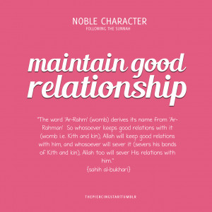 Good Relationship Quotes Islamic-quotes: maintain good relationship ...