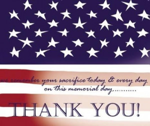 Thank you to our veterans, past, present and future, as well as their ...