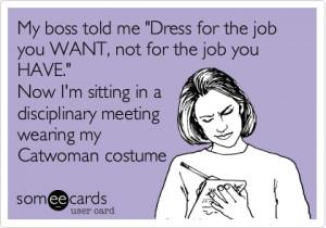My boss told me