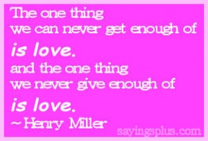 Other Popular Love Quotes and Sayings