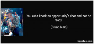 More Bruno Mars Quotes