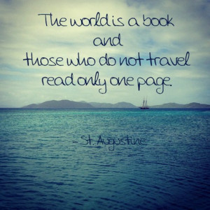 ... book and those who do not travel read only one page.