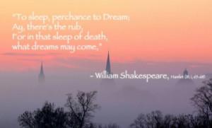 Dream Famous William Shakespeare Quotes