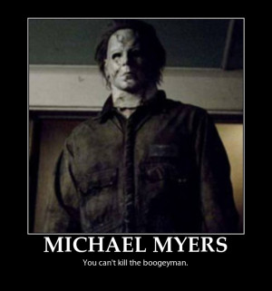 Michael Myers Motivator by Movie-Man