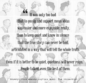 ... ve Learned About Gossip. (A collection of 9 quotes.) -- Living Vintage