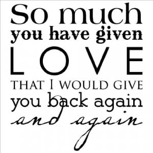 Love You So Much Quotes And Sayings