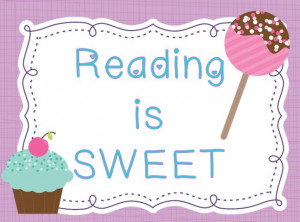 Reading is SWEET and I have a winner!