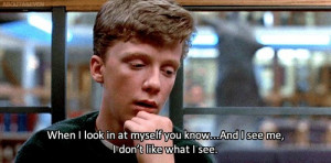 The Breakfast Club david bowie quotes me quotes
