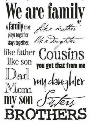 Quotes About Family...
