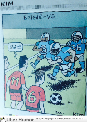 Comic from a Belgian paper this morning.