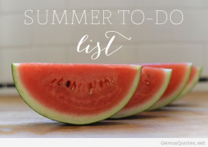First day of summer quote