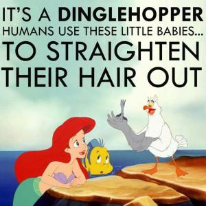 The Little Mermaid's Dinglehopper